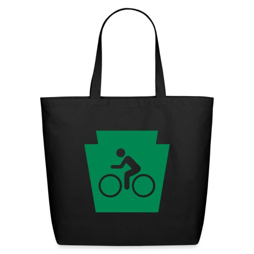 PA Keystone w/Biker - Eco-Friendly Cotton Tote