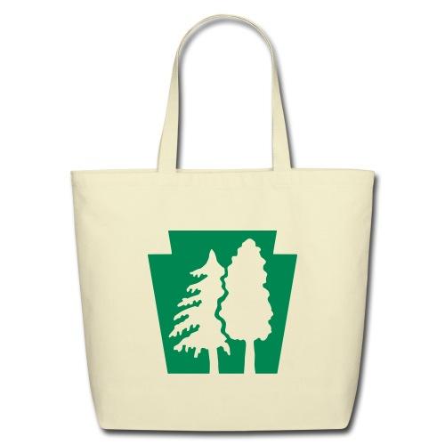 PA Keystone w/Trees - Eco-Friendly Cotton Tote