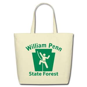 William Penn State Forest Keystone Climber - Eco-Friendly Cotton Tote