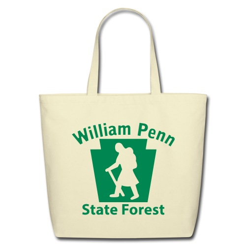 William Penn State Forest Hiker (Female) - Eco-Friendly Cotton Tote