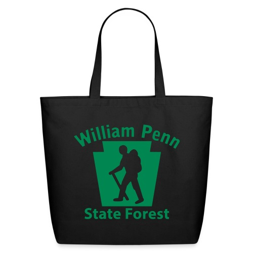 William Penn State Forest Hiker (Male) - Eco-Friendly Cotton Tote