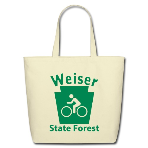 Weiser State Forest Keystone Biker - Eco-Friendly Cotton Tote