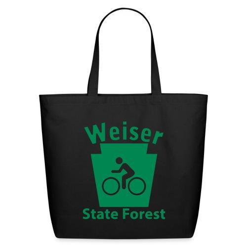 Weiser State Forest Keystone Biker - Eco-Friendly Cotton Tote