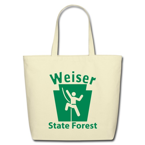 Weiser State Forest Keystone Climber - Eco-Friendly Cotton Tote