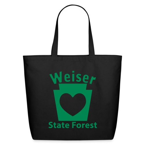 Weiser State Forest Keystone w/Heart - Eco-Friendly Cotton Tote