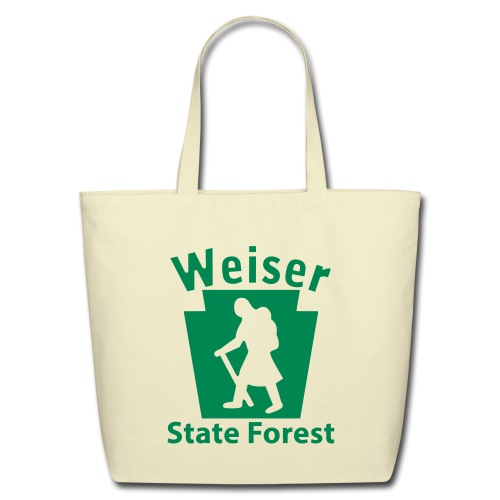 Weiser State Forest Keystone Hiker (female) - Eco-Friendly Cotton Tote