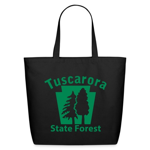 Tuscarora State Forest Keystone w/Trees - Eco-Friendly Cotton Tote