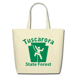 Tuscarora State Forest Keystone Climber - Eco-Friendly Cotton Tote