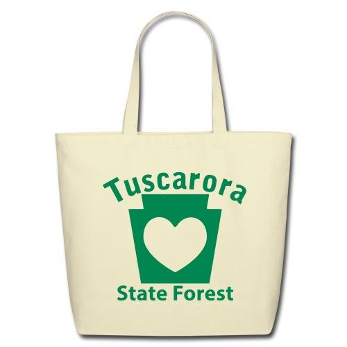 Tuscarora State Forest Keystone Heart - Eco-Friendly Cotton Tote
