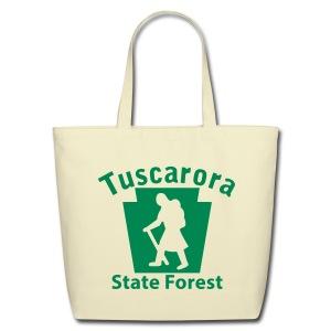 Tuscarora State Forest Keystone Hiker (female) - Eco-Friendly Cotton Tote