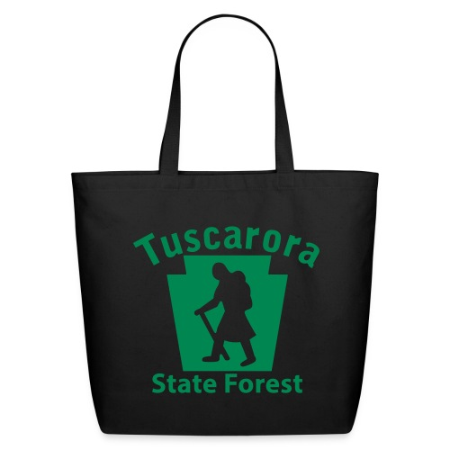 Tuscarora State Forest Keystone Hiker (female) - Eco-Friendly Cotton Tote