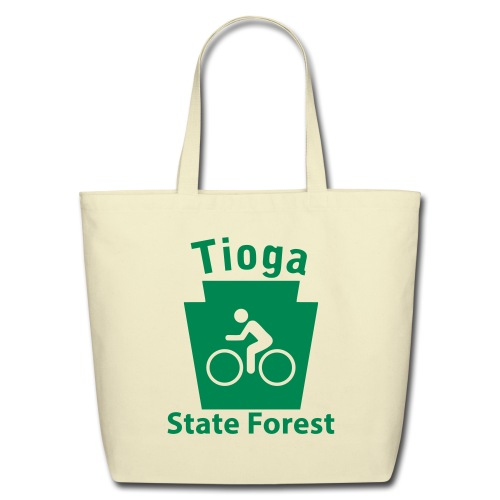 Tioga State Forest Keystone Biker - Eco-Friendly Cotton Tote