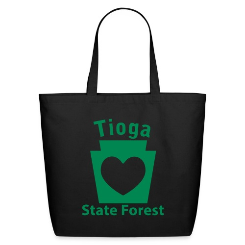 Tioga State Forest Keystone Heart - Eco-Friendly Cotton Tote