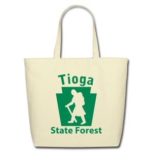 Tioga State Forest Keystone Hiker (female) - Eco-Friendly Cotton Tote
