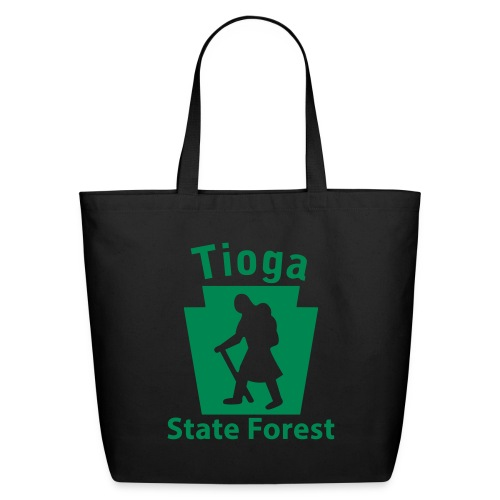 Tioga State Forest Keystone Hiker (female) - Eco-Friendly Cotton Tote