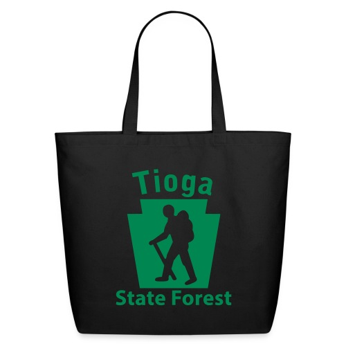 Tioga State Forest Keystone Hiker (male) - Eco-Friendly Cotton Tote