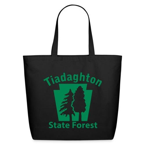 Tiadaghton State Forest Keystone w/Trees - Eco-Friendly Cotton Tote
