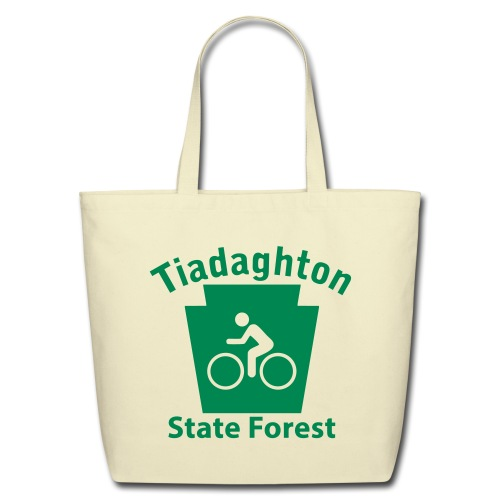 Tiadaghton State Forest Keystone Biker - Eco-Friendly Cotton Tote