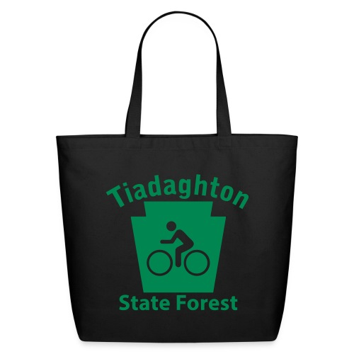 Tiadaghton State Forest Keystone Biker - Eco-Friendly Cotton Tote