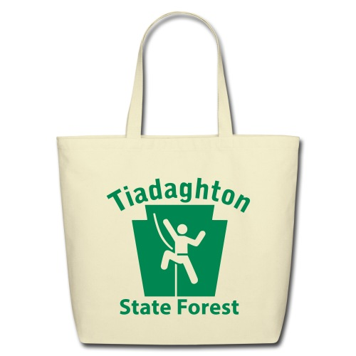 Tiadaghton State Forest Keystone Climber - Eco-Friendly Cotton Tote