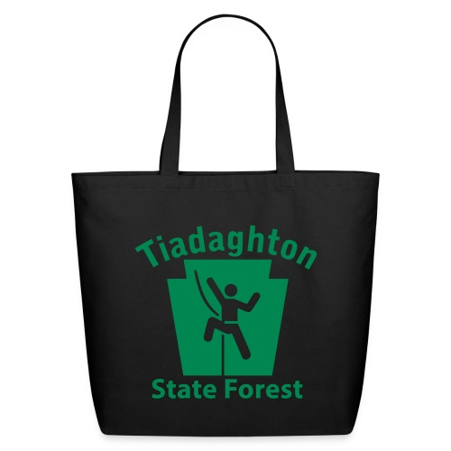 Tiadaghton State Forest Keystone Climber - Eco-Friendly Cotton Tote