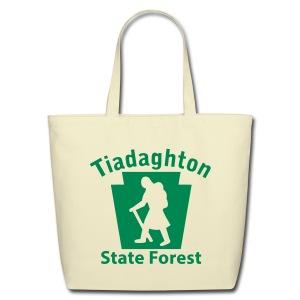 Tiadaghton State Forest Keystone Hiker (female) - Eco-Friendly Cotton Tote