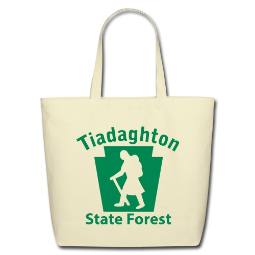 Tiadaghton State Forest Keystone Hiker (female) - Eco-Friendly Cotton Tote