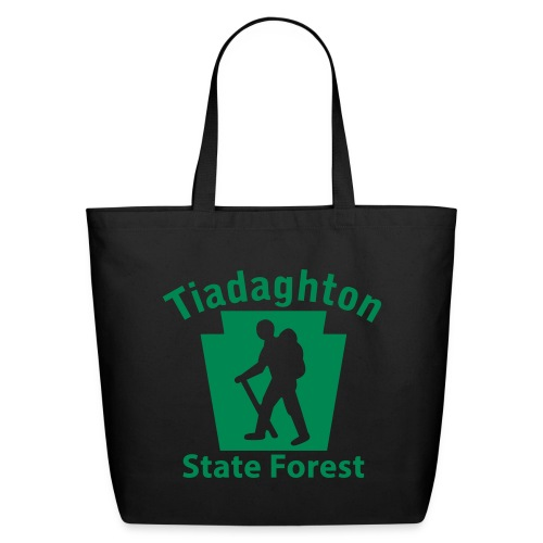 Tiadaghton State Forest Keystone Hiker (male) - Eco-Friendly Cotton Tote