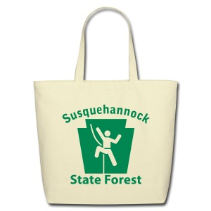 Susquehannock State Forest Keystone Climber - Eco-Friendly Cotton Tote