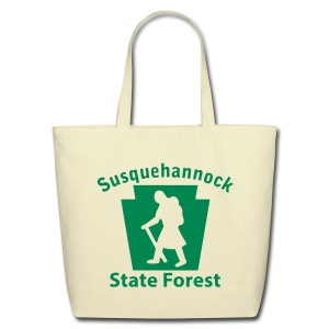 Susquehannock State Forest Keystone Hiker (female) - Eco-Friendly Cotton Tote
