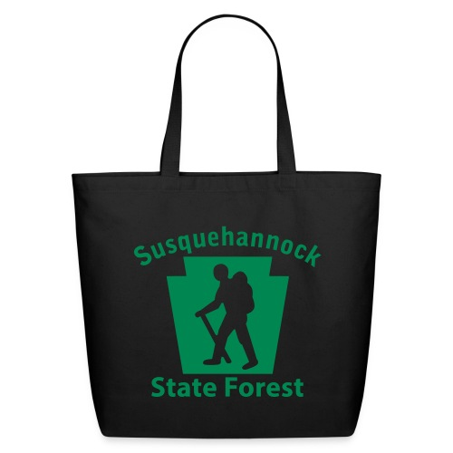 Susquehannock State Forest Keystone Hiker (male) - Eco-Friendly Cotton Tote