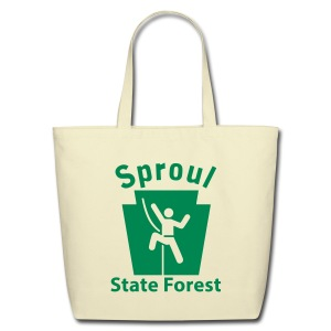 Sproul State Forest Keystone Climber - Eco-Friendly Cotton Tote
