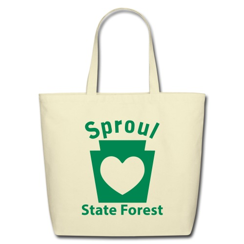 Sproul State Forest Keystone Heart - Eco-Friendly Cotton Tote