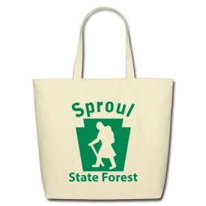 Sproul State Forest Keystone Hiker (female) - Eco-Friendly Cotton Tote