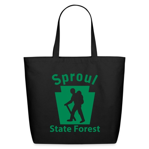 Sproul State Forest Keystone Hiker (male) - Eco-Friendly Cotton Tote