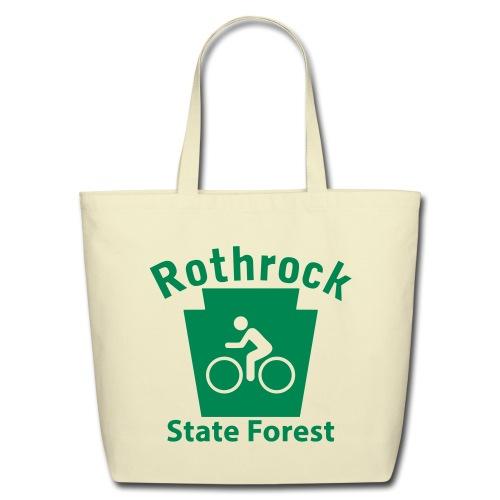 Rothrock State Forest Keystone Biker - Eco-Friendly Cotton Tote