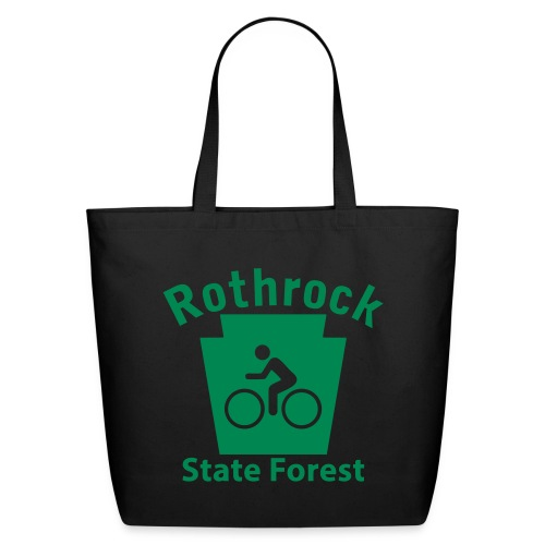 Rothrock State Forest Keystone Biker - Eco-Friendly Cotton Tote