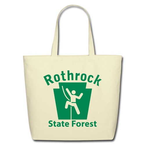 Rothrock State Forest Keystone Climber - Eco-Friendly Cotton Tote