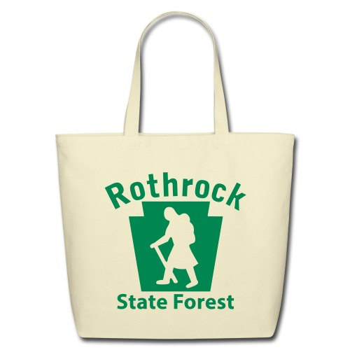Rothrock State Forest Keystone Hiker (female) - Eco-Friendly Cotton Tote