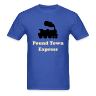 T-Shirts ~ Men's T-Shirt ~ Pound Town
