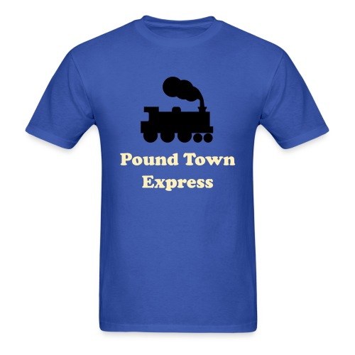Pound Town - Men's T-Shirt