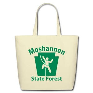 Moshannon State Forest Keystone Climber - Eco-Friendly Cotton Tote