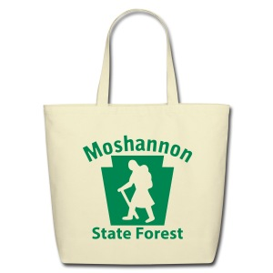 Moshannon State Forest Keystone Hiker (female) - Eco-Friendly Cotton Tote