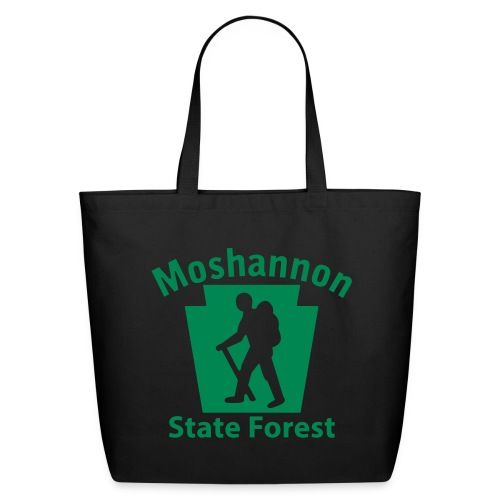 Moshannon State Forest Keystone Hiker (male) - Eco-Friendly Cotton Tote