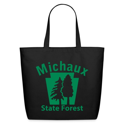 Michaux State Forest Keystone w/Trees - Eco-Friendly Cotton Tote