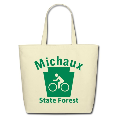Michaux State Forest Keystone Biker - Eco-Friendly Cotton Tote