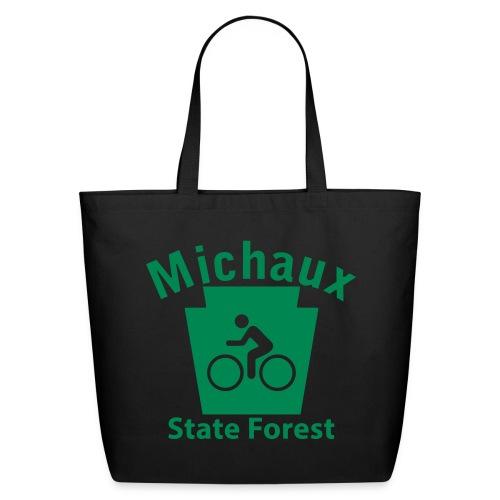 Michaux State Forest Keystone Biker - Eco-Friendly Cotton Tote