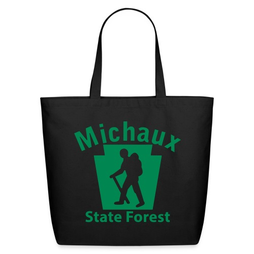 Michaux State Forest Keystone Hiker (male) - Eco-Friendly Cotton Tote