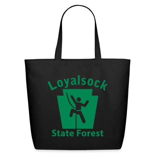 Loyalsock State Forest Keystone Climber - Eco-Friendly Cotton Tote