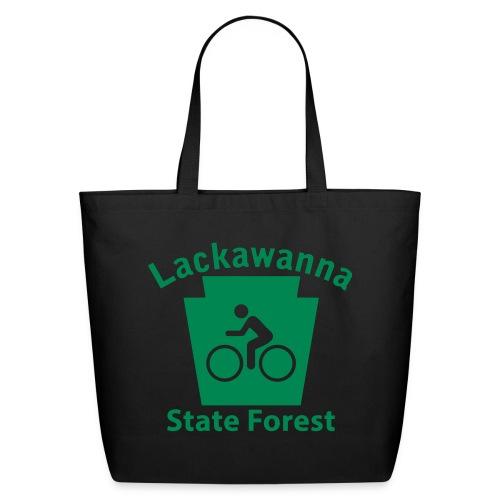 Lackawanna State Forest Keystone Biker - Eco-Friendly Cotton Tote